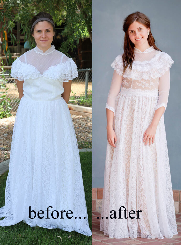 Jessica-May-Bridal Brenn before after